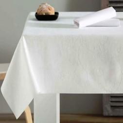 Mantel de Cuero Ecologico Decoral Liso Rectangular de 3.00 x 1.40 cm en 100% Poliester.